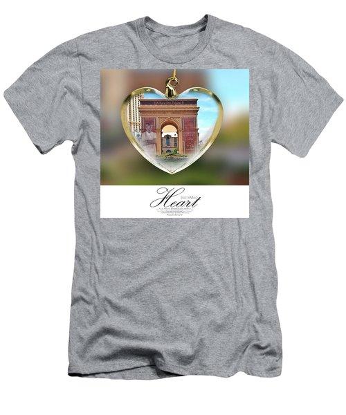 A Fury For Flavor, Arc De Triomphe, Las Men's T-Shirt (Athletic Fit)