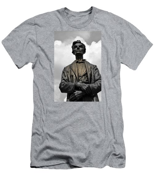 A Great Man Men's T-Shirt (Slim Fit) by Kathy Barney