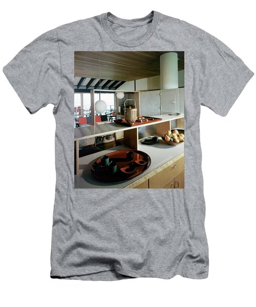 A House At Quantuck Bay Men's T-Shirt (Athletic Fit)