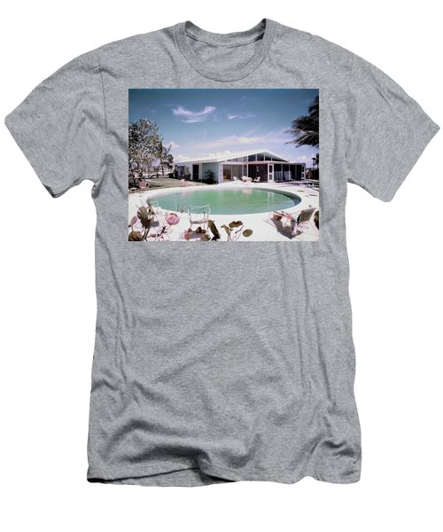 A House In Miami Men's T-Shirt (Athletic Fit)