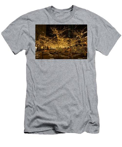 A Little Golden Garden In The Heart Of Manhattan New York City Men's T-Shirt (Athletic Fit)