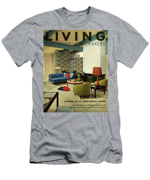 A Living Room With Carpeting By Callaway Men's T-Shirt (Athletic Fit)
