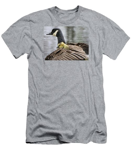 Men's T-Shirt (Slim Fit) featuring the photograph A Mother's Love by Heather King