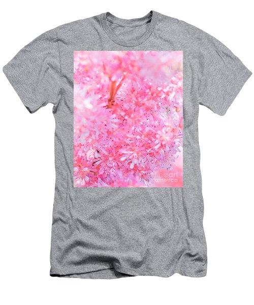 A Natural Pink Bouquet Men's T-Shirt (Athletic Fit)