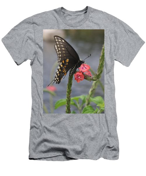 A Pause In Flight Men's T-Shirt (Athletic Fit)