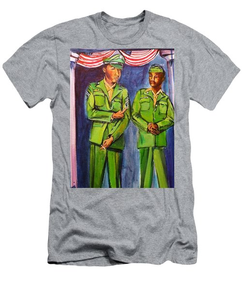 Daddy Soldier Men's T-Shirt (Athletic Fit)