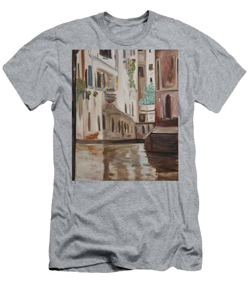 A Quiet Venice Canal Men's T-Shirt (Athletic Fit)
