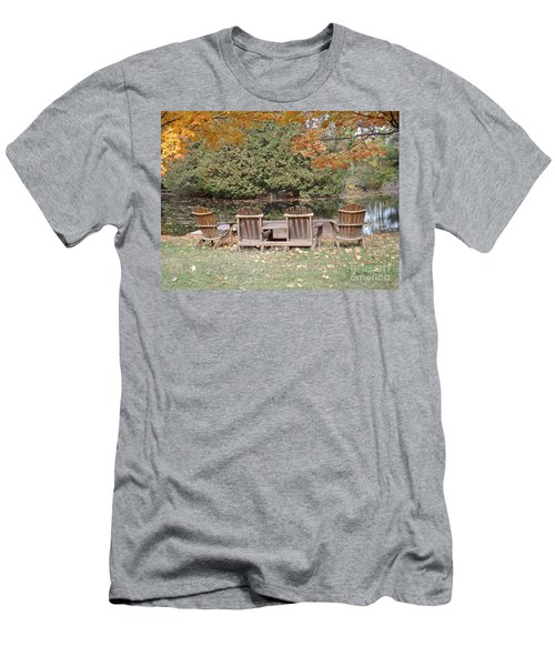 Men's T-Shirt (Slim Fit) featuring the photograph Relax For A Moment  by Brenda Brown