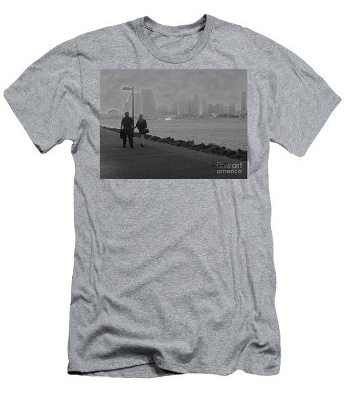 A Romantic Walk 2 Men's T-Shirt (Athletic Fit)