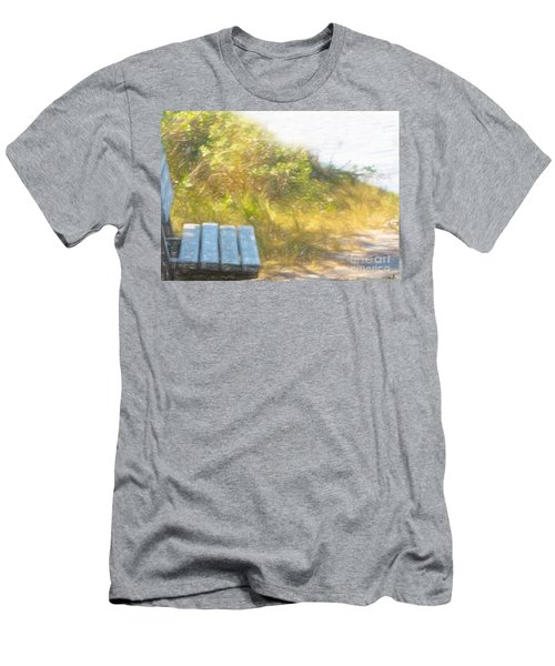 A Seat By The Ocean Men's T-Shirt (Athletic Fit)