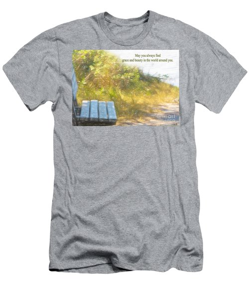 A Seat By The Ocean To Observe God's Beauty Men's T-Shirt (Athletic Fit)