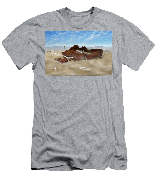 A Slow Death In Piano Valley Men's T-Shirt (Athletic Fit)