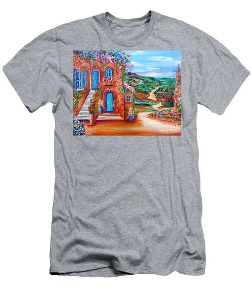 A Sunny Day In Chianti Tuscany Men's T-Shirt (Athletic Fit)