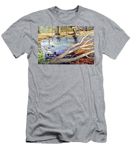 A Tree Falls Men's T-Shirt (Athletic Fit)
