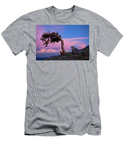 A Westerly Wind Men's T-Shirt (Slim Fit) by Jim Garrison