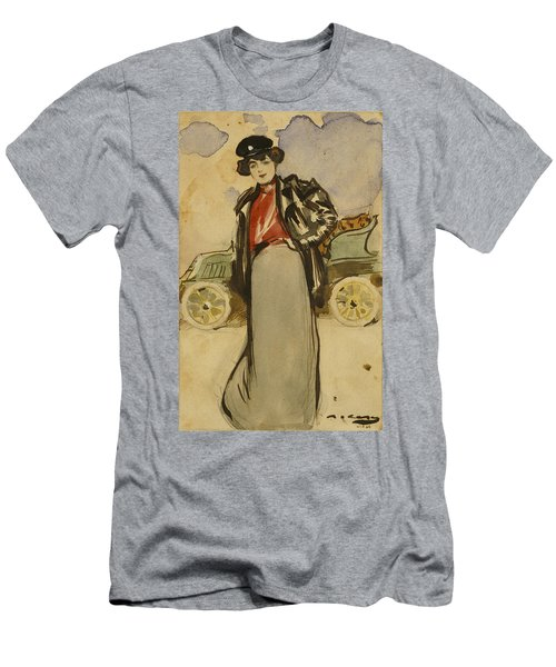 A Woman Driver Men's T-Shirt (Athletic Fit)