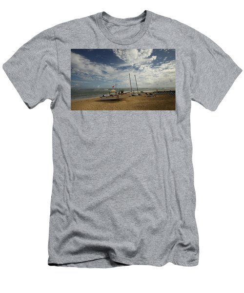 Abandoned Beach Men's T-Shirt (Athletic Fit)