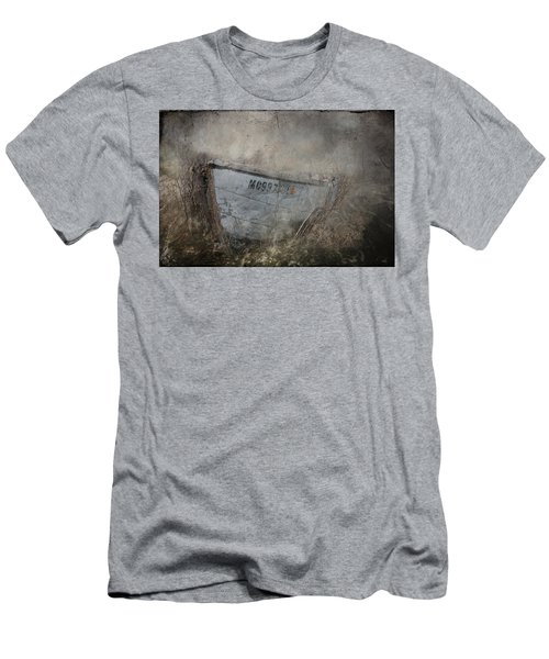 Abandoned On Sugar Island Michigan Men's T-Shirt (Athletic Fit)