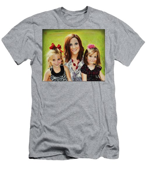 Abby And The Girls Men's T-Shirt (Athletic Fit)