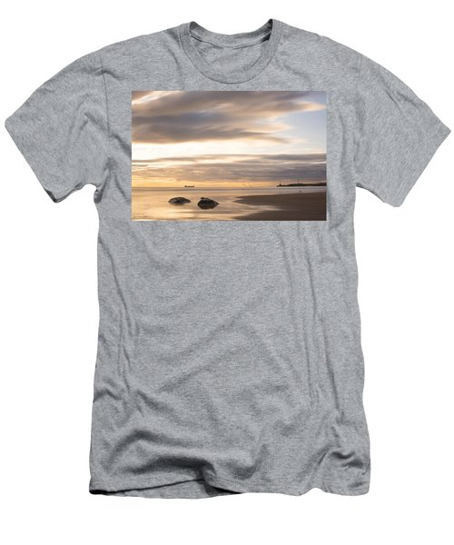 Aberdeen Beach At Dawn Men's T-Shirt (Athletic Fit)