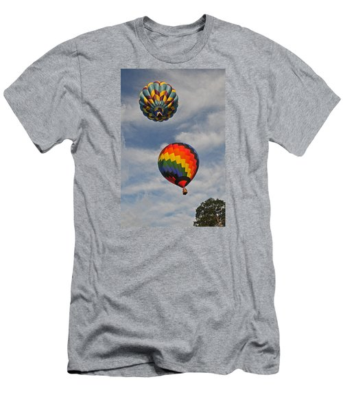Men's T-Shirt (Slim Fit) featuring the photograph Above The Treetop by Mike Martin