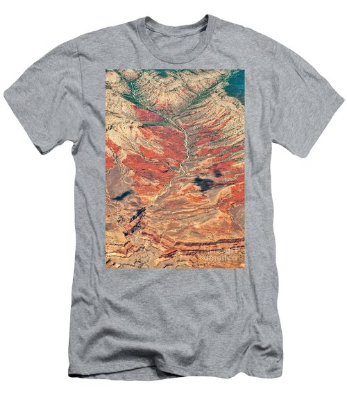 Men's T-Shirt (Athletic Fit) featuring the digital art Above Timber Line by Mae Wertz