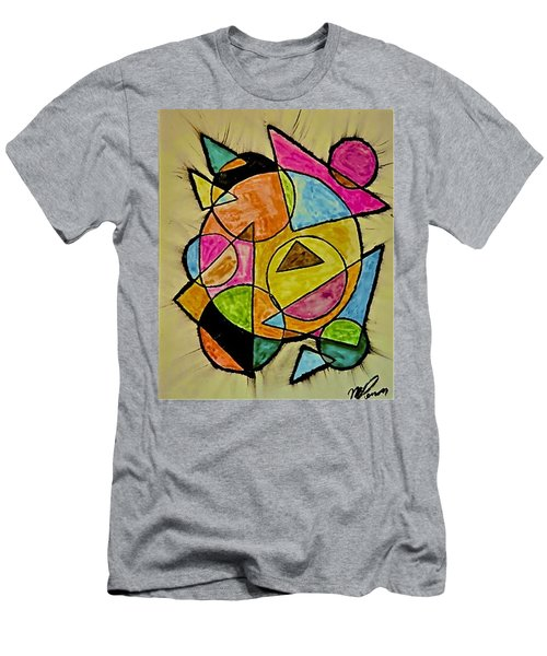 Abstract 89-004 Men's T-Shirt (Athletic Fit)