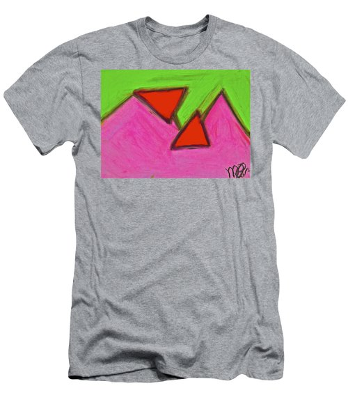 Abstract 92-002 Men's T-Shirt (Athletic Fit)