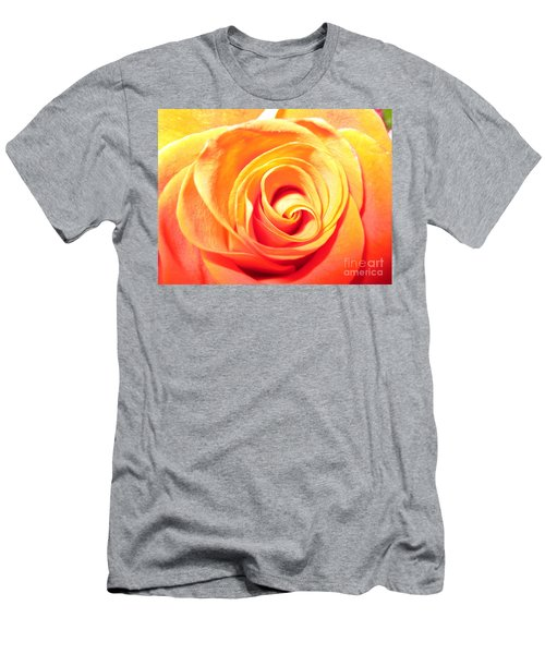 Abstract Rose 1 Men's T-Shirt (Athletic Fit)