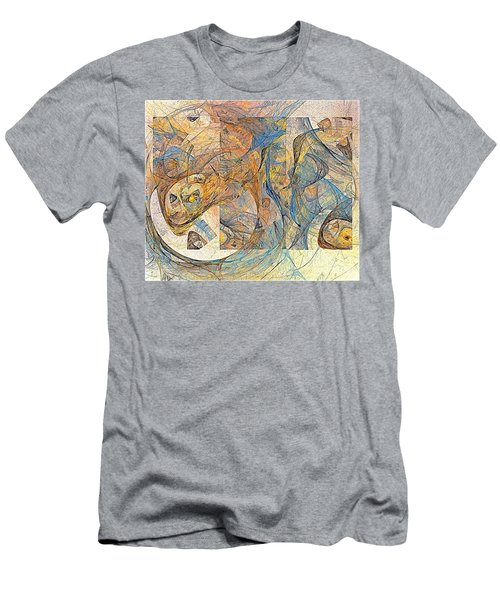 Abstraction 0499 Marucii Men's T-Shirt (Athletic Fit)