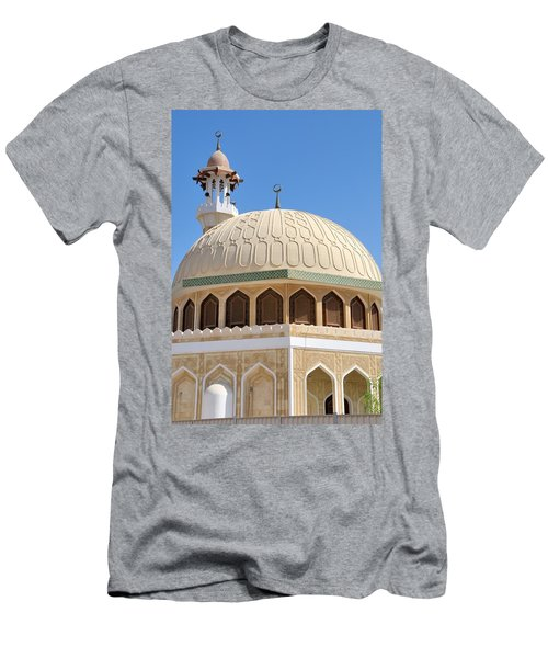 Abu Dhabi Mosque Men's T-Shirt (Athletic Fit)