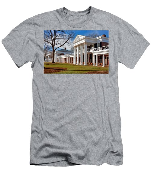 Academical Village At The University Of Virginia Men's T-Shirt (Athletic Fit)