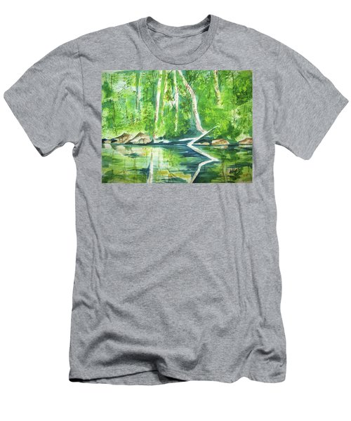 Adirondack Zen Men's T-Shirt (Athletic Fit)