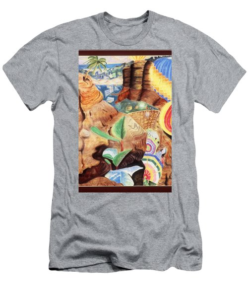 African Daydream Men's T-Shirt (Athletic Fit)