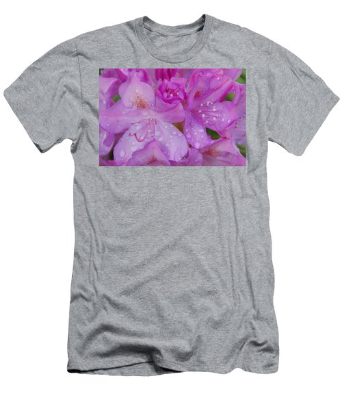 Men's T-Shirt (Slim Fit) featuring the photograph After The Rain by Aimee L Maher Photography and Art Visit ALMGallerydotcom