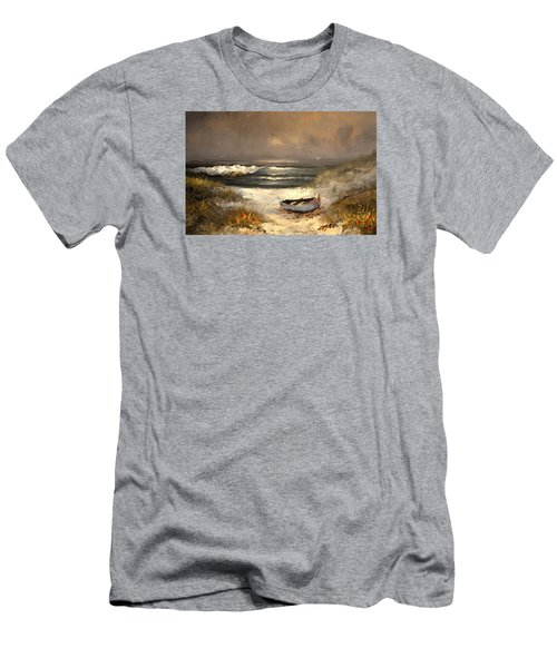 After The Storm Passed Men's T-Shirt (Slim Fit) by Sandi OReilly