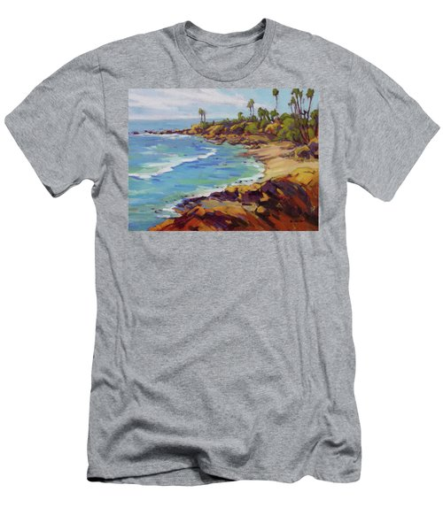 Afternoon Glow 2 /laguna Beach Men's T-Shirt (Athletic Fit)
