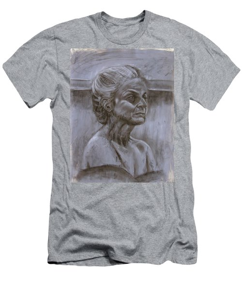 Aged Woman Men's T-Shirt (Athletic Fit)