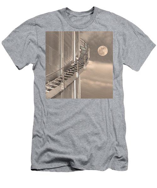 Agri Moon Men's T-Shirt (Athletic Fit)