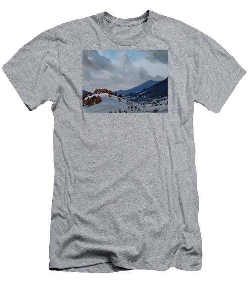 Airyhill Men's T-Shirt (Slim Fit) by Len Stomski