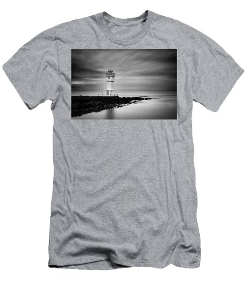 Akranes Lighthouse Men's T-Shirt (Athletic Fit)