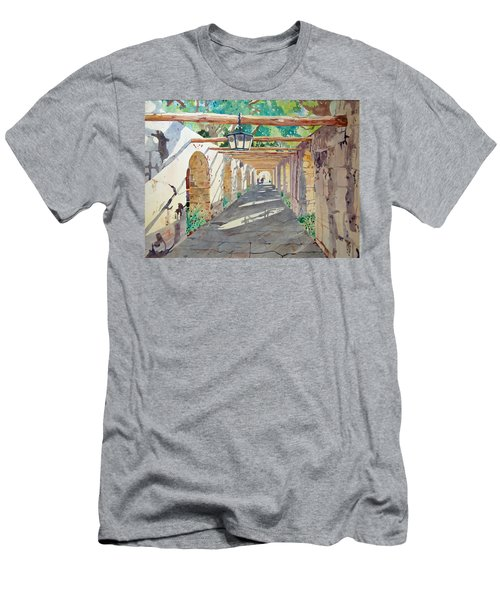 Alamo Walkway Men's T-Shirt (Athletic Fit)