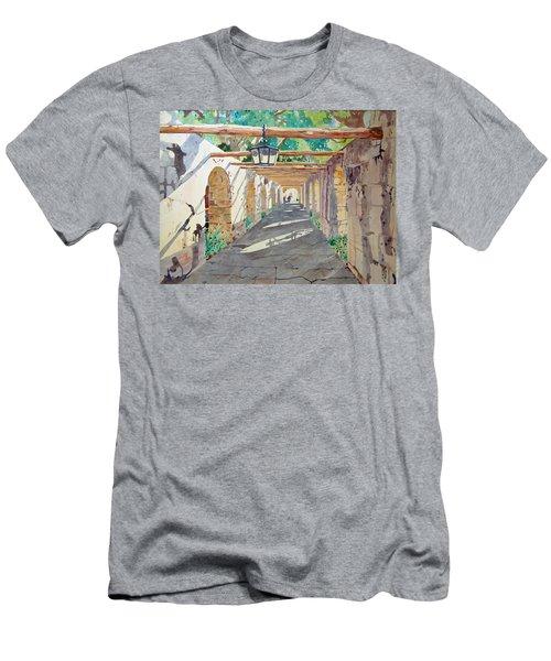 Alamo Walkway Men's T-Shirt (Athletic Fit)