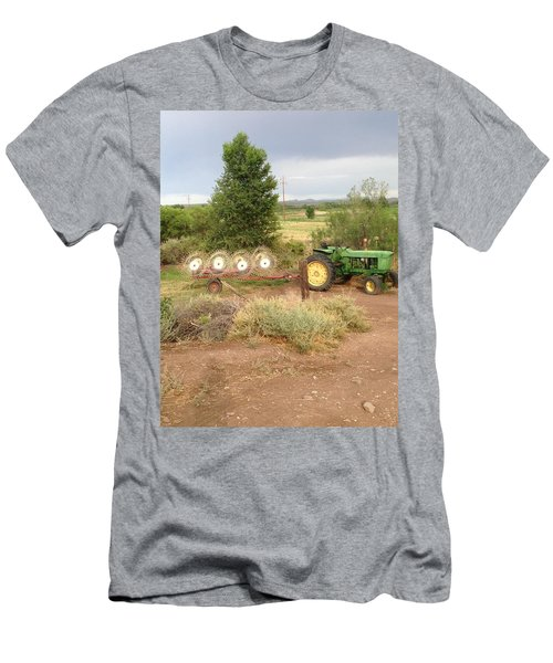 Men's T-Shirt (Slim Fit) featuring the photograph Alfalfa Time by Erika Chamberlin