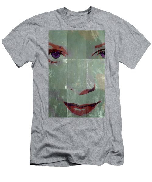 Alice In Green Men's T-Shirt (Athletic Fit)