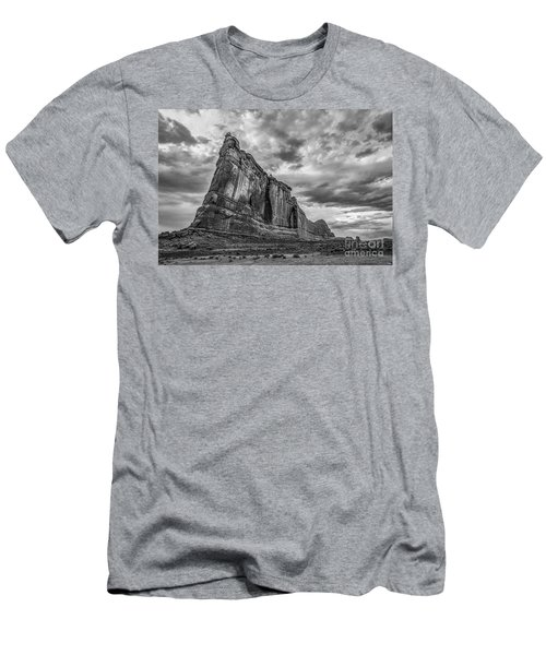 All Aboard Bw Men's T-Shirt (Athletic Fit)