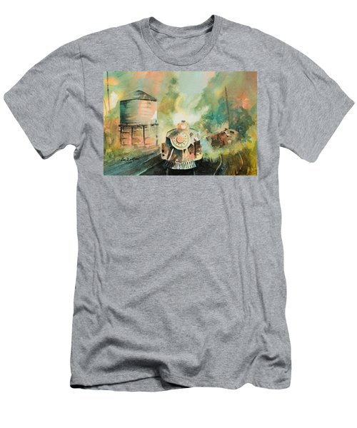 All Aboard Men's T-Shirt (Slim Fit) by Lee Beuther