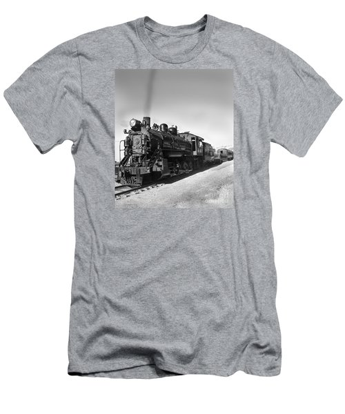 All Aboard Men's T-Shirt (Slim Fit) by Robert Bales