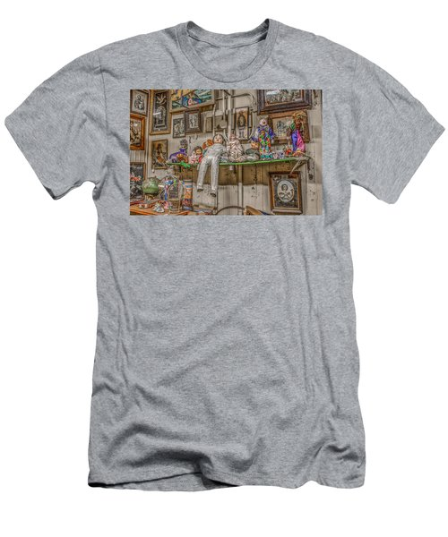 Men's T-Shirt (Slim Fit) featuring the photograph All By My Shelf by Ray Congrove