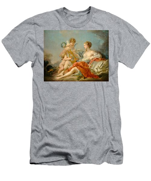 Allegory Of Music Men's T-Shirt (Athletic Fit)